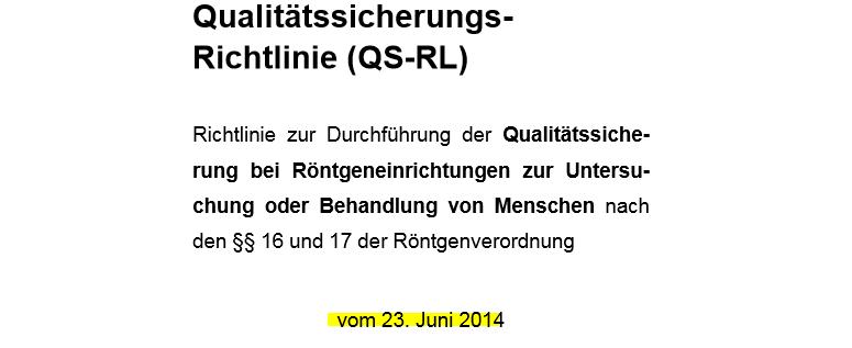 QS-RL von Juni 2014