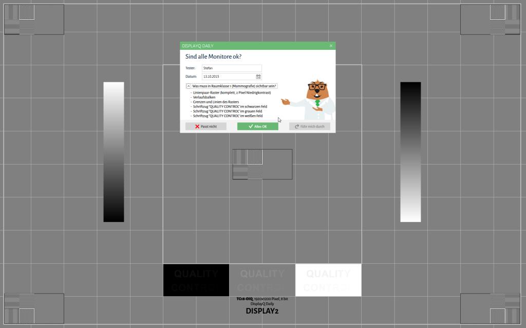 DisplayQ Daily - erste Screenshots
