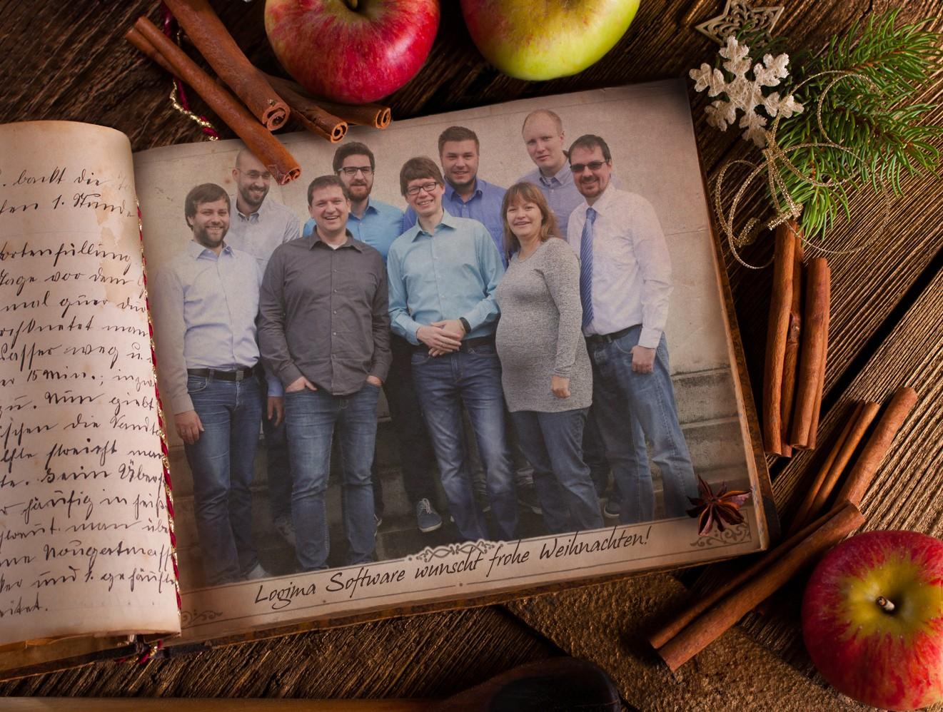 Das Team von Logima Software
