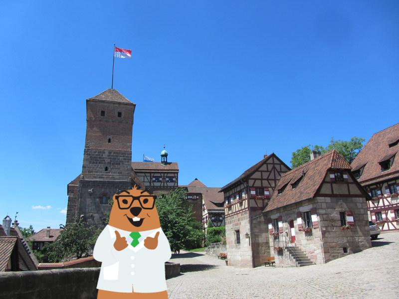 Manfred Murmel auf der Kaiserburg